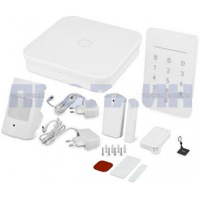 Беспроводная GSM Wi-Fi сигнализация охранная с приложением для смартфонов Dinsafer NOVA 01B
