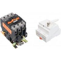 GSM контроллер на DIN-рейку с контактором на 40 Ампер Страж GSM-Din-rail 30 кВт
