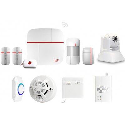 Беспроводная охранная GSM Wi-Fi сигнализация с камерой Страж Видео VIP