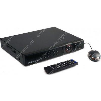 Гибридный 4-х канальный регистратор для видеонаблюдения GS-D7104-GT