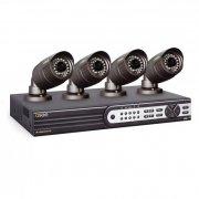 Профессиональный видеокомплект на 4 камеры HD качества UControl Профи HD