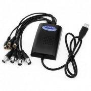 4-х канальный AHD видеорегистратор для видеозахвата USB-AHD4 A86