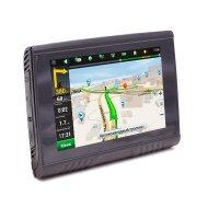 Влагозащищенный GPS навигатор для мотоцикла (мотонавигатор) AVIS DRC050G