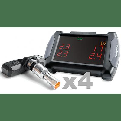 Система контроля давления и температуры в шинах CARAX TPMS CRX-1010N