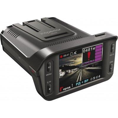 Автомобильный Full-HD видеорегистратор с GPS и радар-детектором Inspector HOOK