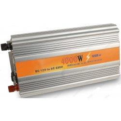 Автомобильный инвертор (преобразователь напряжения) Konnwei-4000