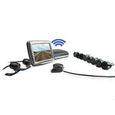 Беспроводной парктроник на 8 датчиков и 2 камеры MasterPark 28L