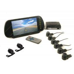 Беспроводной парктроник в зеркале с камерой заднего вида MasterPark 6-W-N