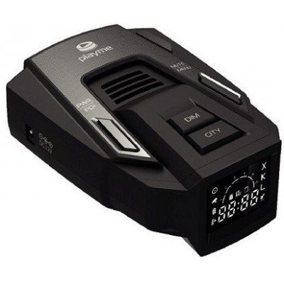 Автомобильный сигнатурный радар-детектор с GPS информатором PlayMe SILENT 2