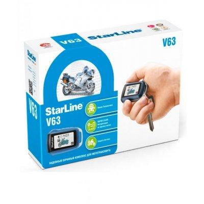 Мотосигнализация с обратно связью StarLine V63 Moto