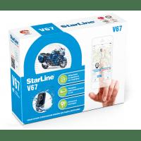 Противоугонная сигнализация для мотоциклов с GPS мониторингом StarLine V67 Moto