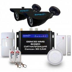Беспроводная GSM MMS сигнализация с уличными камерами Sapsan 3G Cam Дача