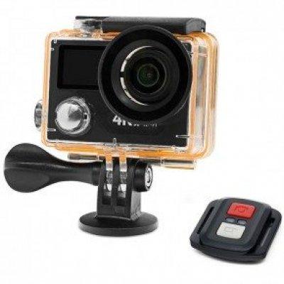Экшн камера 4K 12МП c Wi-Fi модулем и аква-боксом EKEN H8 Plus