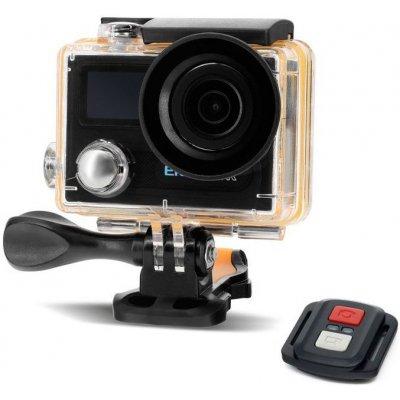 Экшн-камера 4K 12.4 МП c Wi-Fi модулем и аква-боксом EKEN H8R