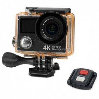 Экшн камера 4K 14МП c Wi-Fi модулем и аква-боксом EKEN H8Rse