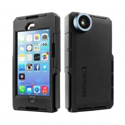 Противоударный экшн-кейс с широкоугольной линзой для iPhone 5/5S Hitcase Pro