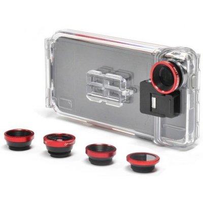 Водонепроницаемый экшн-кейс для iPhone 5/5S со сменными объективами Optrix PhotoProX