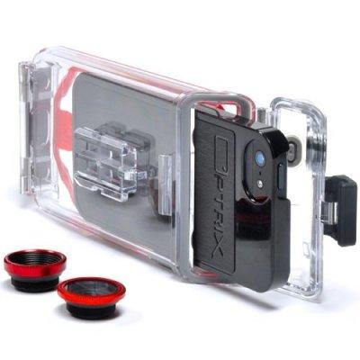 Водонепроницаемый экшн-кейс для iPhone 5/5S с макрообъективом Optrix PhotoX