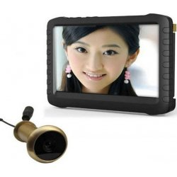 Видеоглазок беспроводной с записью и датчиком движения i-Corder Radio (TE850H)