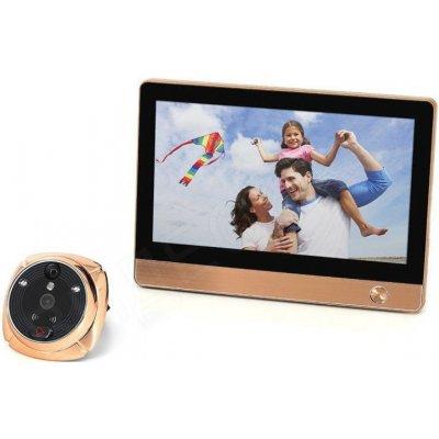 Видеоглазок с поддержкой GSM/Wi-Fi и большим сенсорным дисплеем i-Corder iHome 4 (Rollup i4)