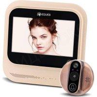 Дверной wi-fi видеоглазок с датчиком движения и записью i-Corder R26 (EQUES)