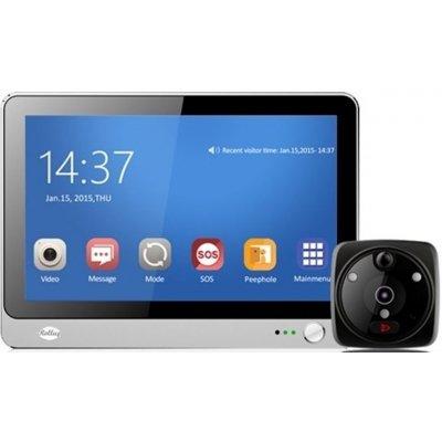 Видеоглазок с GSM/Wi-Fi и большим сенсорным дисплеем iHome 8 (Rollup i8)