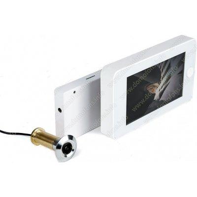 Дверной wi-fi видеоглазок с монитором и датчиком движения iHome-GLAZ-М