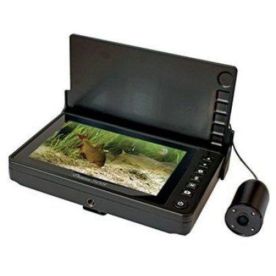 Подводная видеокамера для рыбалки (видео-удочка) с записью и козырьком Фишка 503