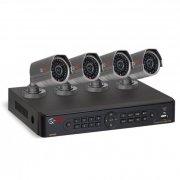 Комплект видеонаблюдения на 4 уличные камеры Ucontrol Профи 7S