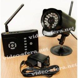 Беспроводной комплект видеонаблюдения для улицы на 1 камеру BlackBox Стрит