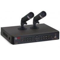 Комплект видеонаблюдения на 2 комнатные камеры UControl Квартира