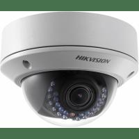 Купольная IP камера HIKVISION DS-2CD2742FWD-IS 2.8-12mm с POE питанием и записью на карту