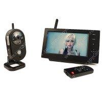 Беспроводной IP видеокомплект c записью на 1 внутреннюю камеру Home Автоном 8204