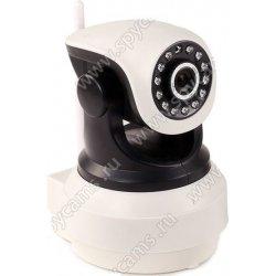 Внутренняя поворотная 3G 4G IP камера c Wi-Fi и записью на карту памяти Link NC36G-8G