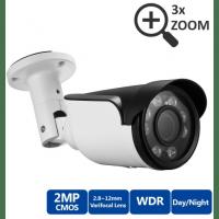 Уличная IP камера с вариофокальным моторизированным объективом Millenium S122 Vario