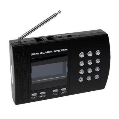 Беспроводная охранная GSM сигнализация с датчиком температуры Sapsan Pro 5T