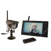 Беспроводной IP видеокомплект c записью на 1 камеру Склад Автоном 8108