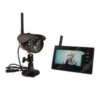 Беспроводной IP видеокомплект c записью на 1 камеру Склад Автоном мини 8108