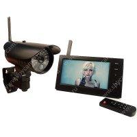 Беспроводной IP видеокомплект c записью на 1 уличную камеру Стрит Автоном 8107