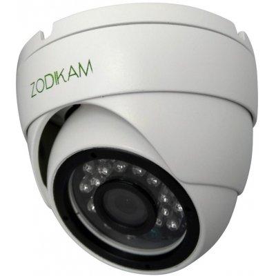 Купольная антивандальная IP камера 2МП для улицы и помещений Zodikam 3242-PM