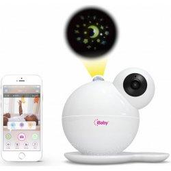 Цифровая wi-fi видеоняня с датчиками окружающей среды и проектором iBaby Monitor M7
