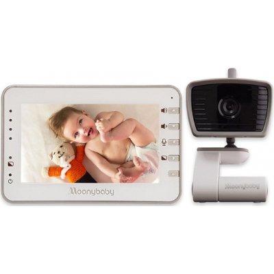 Цифровая видеоняня с датчиком плача и термометром Moonybaby 55933