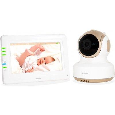 Цифровая Wi-Fi IP видеоняня с управляемой камерой Ramili Baby RV1000