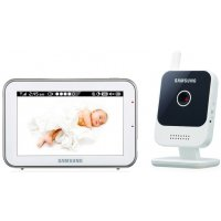 Цифровая HD видео-няня с 2-х сторонним аудио и голосовой VOX активацией Samsung SEW-3042WP