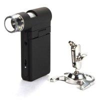 Портативный цифровой микроскоп со встроенным ЖК-дисплеем Levenhuk DTX 500 Mobi