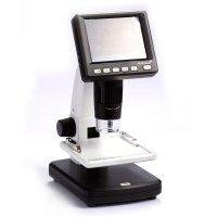 Цифровой микроскоп со ЖК-дисплеем и автономным питанием Levenhuk DTX 500 LCD