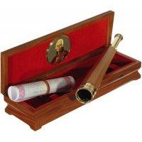 Подзорная труба подарочная (сувенирная) двухколенная Ушаков (Генерал+)