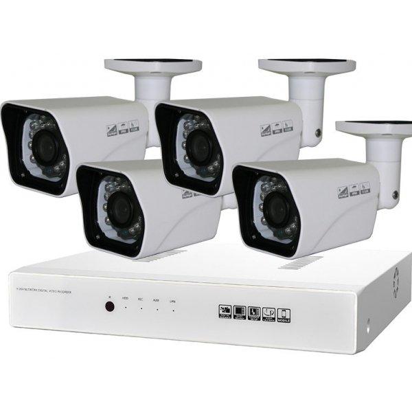 Готовый комплект для видеонаблюдения на даче