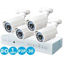 Проводной AHD комплект видеонаблюдения на 4 камеры IVUE Престиж AHD 4CH