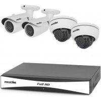 Профессиональный проводной HD видеокомплект на 4 камеры Proline K4120DW AHD